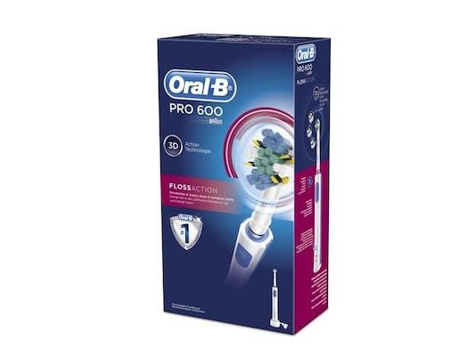 Ηλεκτρική Οδοντόβουρτσα Oral-B Pro 600 Floss Action 3d