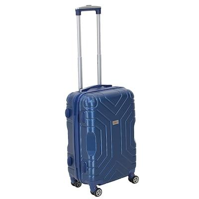 Βαλίτσα Καμπίνας Galaxy Με Ρόδες Σκληρή Από ABS Μπλε 40 x 22 x 55 cm 0495c926cc0
