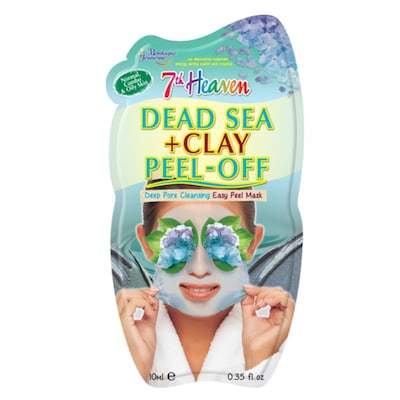 Dead Sea And Clay Peel Off