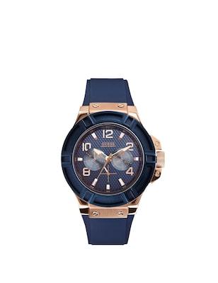 Guess Watches Guess Ανδρικο Μπλε-Χρυσο Ρολοι  7ba61ad8bb7
