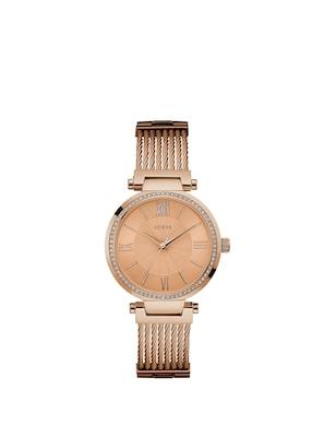 Guess Watches Guess Γυναικειο Χρυσο Ρολοι  9a79bb16270