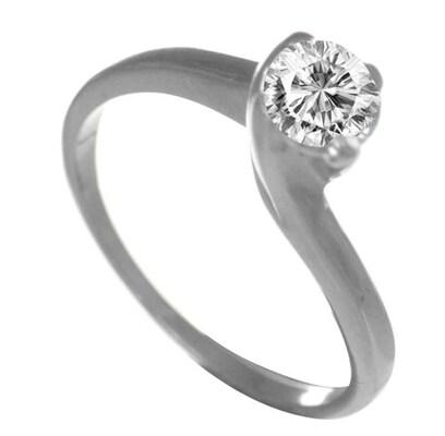 Μονόπετρο Δαχτυλίδι Ασημένιο Με Πέτρα Ζιργκόν a3d2be723b6