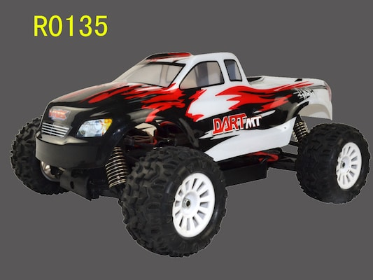 1/18 Scale 4wd Ep Car Monster Truck Rtr - Dart
