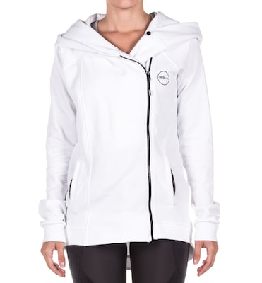 Gsa Cross Zipper Hoodie 17-27024-02 Star White