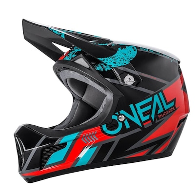 Oneal Sonus Strike Full Face Helmet-black/grey-l
