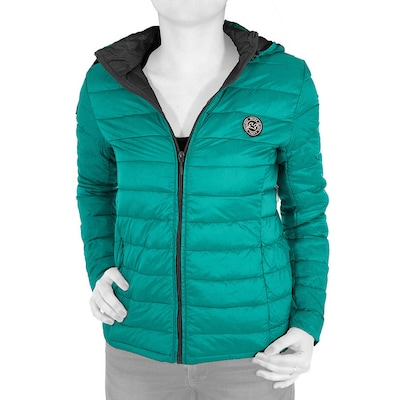 Waxx Down Jacket Ls Hoodie Womens Emerald Green 6eb0679bbc7