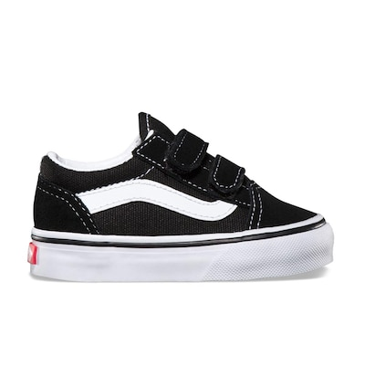 Vans Old Skool V Toddlers Shoes Black