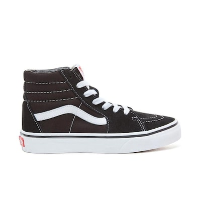 Vans Sk8-hi Kids Shoes Black/true White