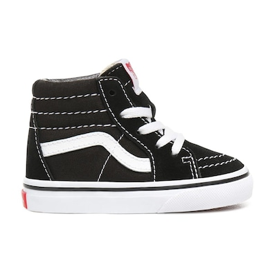 Vans Sk8-hi Toddlers Shoes Black/true White