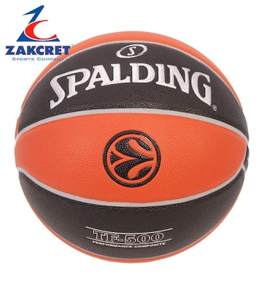 Μπαλες Spalding Tf-500 Euroleague 74-539z Ο-c