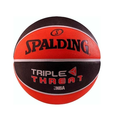 Spalding Triple Threat Colour Size 3 65-841z1 Μαύρο