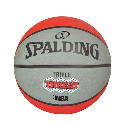 Spalding Triple Threat Colour Sιζε 7 83-521ζ1 Γκρί