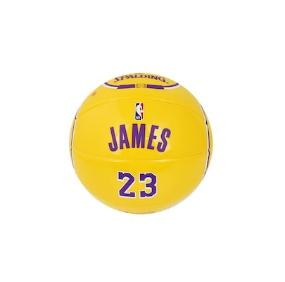 Spalding Nba 1.5 Miniature Jersey Ball 23 Lebron James 65-006z1