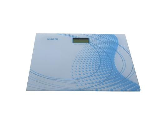 Muhler Msc-3035 Γυάλινη Ψηφιακή Ζυγαριά Μπάνιου 180kg Σε Γαλάζιο Χρώμα 37db3d015c4