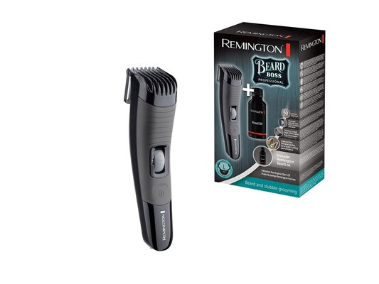 Remington Beard Boss Επαγγελματική Ξυριστική Μηχανή Trimmer  Επαναφορτιζόμενη 3747094e881