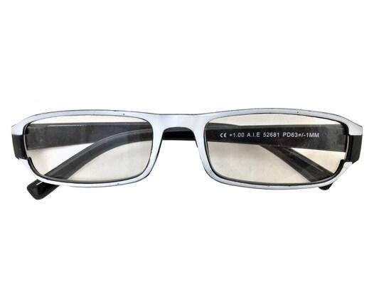 700b667f6c Fashion Zone Unisex Γυαλιά Πρεσβυωπίας Διαβάσματος Με Λεπτό Μαύρο-λευκό  Σκελετό Και Βαθμό +2.50