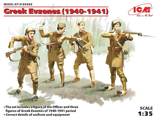 Greek Evzones ( 1940-1941 ) - 1/35 Scale