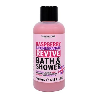 Raspberry And Pomegranate Revive Bath And Shower Travel Size 100ml