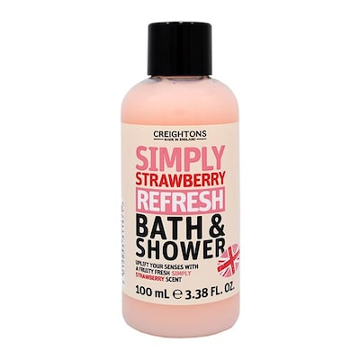 Simply Strawberry Bath And Shower  100ml