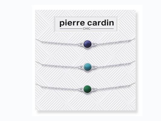 46067fbe50 Pierre Cardin Gift Set Pcc7607 Σετ Βραχιόλια 3 Τεμ Σε 3 Χρώματα Μωβ
