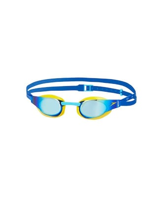 Γυαλάκια Κολύμβησης Speedo Fastskin Elite Mirror Junior One Size Yellow Blue