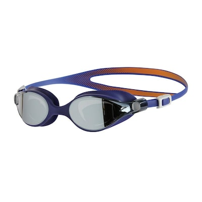 Γυαλάκια Speedo V-Class Virtue Mirror Female Goggles - Fluo Orange / Ultramarine / Silver