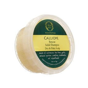 Fresh Line Calliope Rescue Solid Shampoo - For Dry And Flaky Scalp 70gr