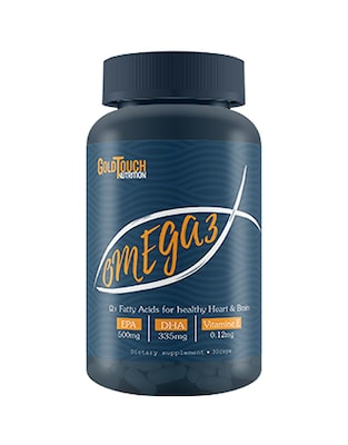 Omega 3 (algae) 30caps  Goldtouch Nutrition