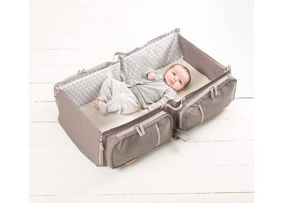 5164a476a50 Τσάντα/πορτ-μπεμπέ Baby Travel Taupe