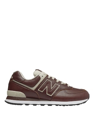 New Balance 574 Ανδρικα Δερματινα Sneakers