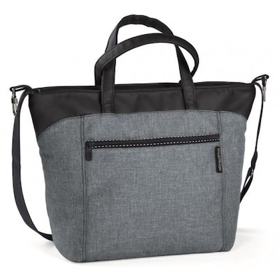 b65f9013c3a Τσάντα Αλλαξιέρα Peg Perego Bag Borsa Γκρι/Μαύρο