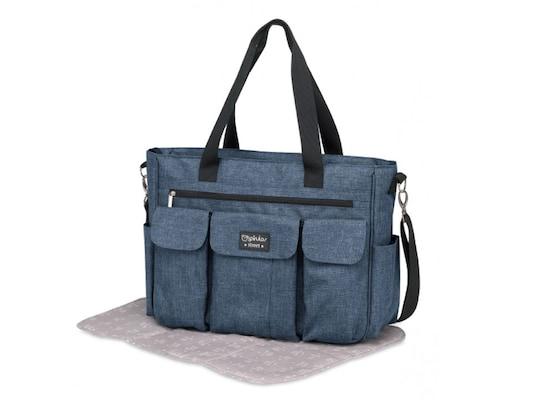 f28ade48a72 Τσάντα Αλλαξιέρα Pirulos Large Denim Jeans