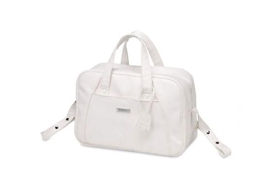 Τσάντα Αλλαξιέρα Πολυδερμάτινη Pirulos White 937990fdde0