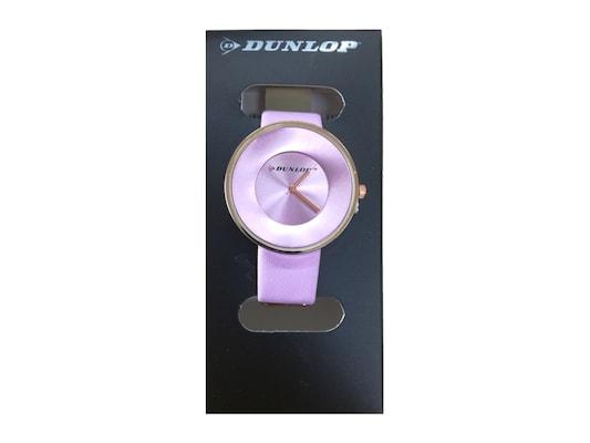 Dunlop Γυναικείο Αναλογικό Ρολόι Χειρός Με Ροζ Καντράν ecbe736a0af
