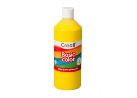 Τέμπερα Κίτρινο Creall Basic Color 500 Ml 02 Primary Yellow
