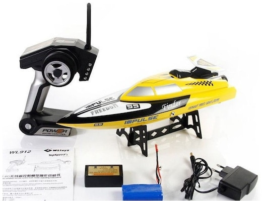 Water Finder 2.4g Remote Control Boat - Max Speed : 24 Km/h - Length : 45.4 Cm