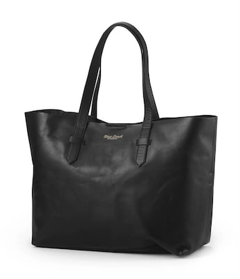 b527a60524 Τσάντα Αλλαξιέρα Μαύρο Leather Elodie Details Μαύρο
