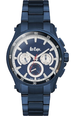 Lee Cooper Multifunction Blue Metal Bracelet Lc06538.990