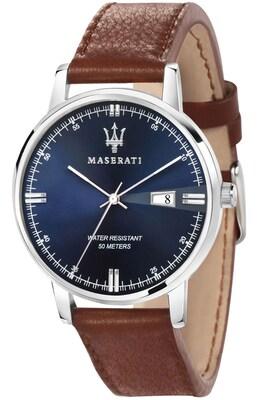 a3cbda05e2 Ρολόι Maserati Eleganza Brown Leather Strap R8851130003