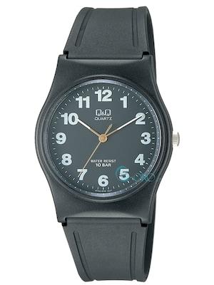 a6e6cbac80c2 Ρολόι Q&Q Black Rubber Strap Vp34-010