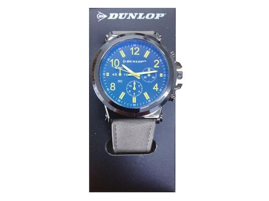 Dunlop Unisex Αναλογικό Ρολόι Χειρός Με Μπλε Καντράν 52c818c97a7