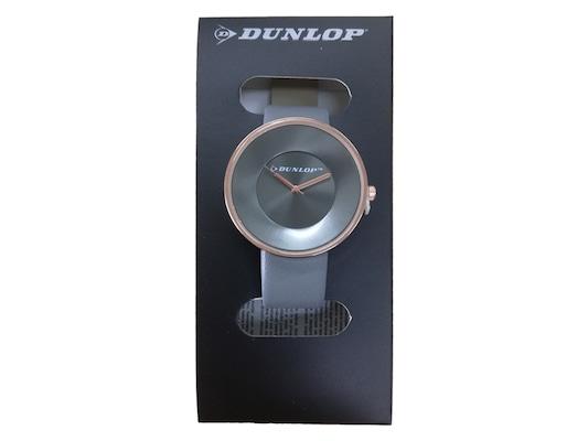 Dunlop Γυναικείο Αναλογικό Ρολόι Χειρός Με Γκρι Καντράν 3dedbb89fab