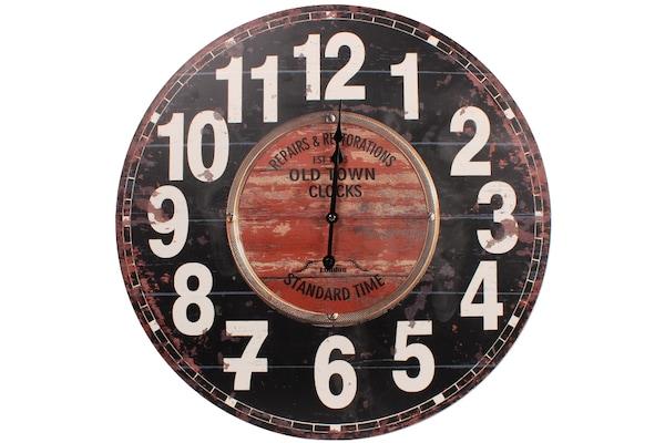 Ρολόι Τοίχου Ξύλινο Φ60 Εκ. Repairs - Keskor 836060-4 5792711753c