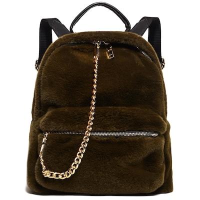 bb8ef7ed11 Πράσινο Γούνινο Mini Backpack