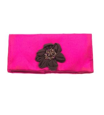 64d1be6f901 Ροζ Υφασμάτινος Φάκελος