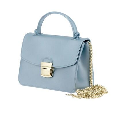 Τσάντα Χειρός Louvel S-08 Ανοιχτό Μπλε 46618776bb2