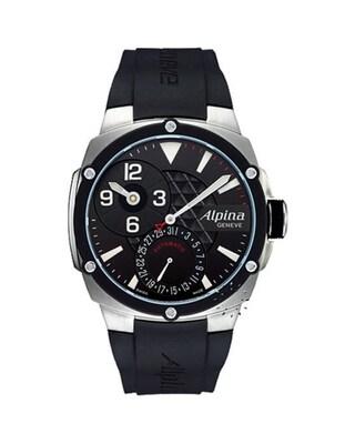 Ρολόι Alpina Adventure Manufacture Regulator Black Rubber Strap 10f937fdaf7