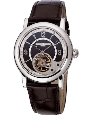 af0fdbfd60 Ρολόι Frederique Constant Automatic Heart Beat Brown Leather Strap
