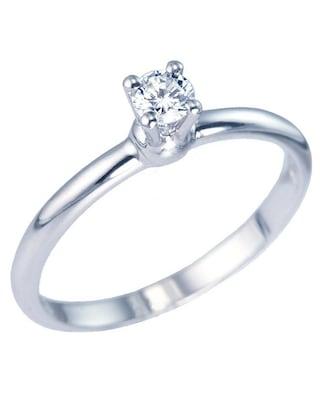 Μονόπετρο Δαχτυλίδι 18κ Λευκόχρυσο Με Διαμάντι  c7fcd4c66e2