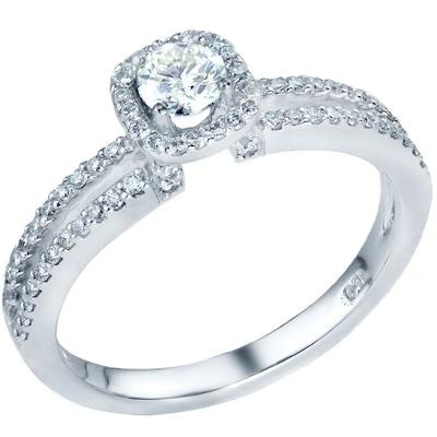 Μονόπετρο Δαχτυλίδι 18k Με Διαμάντια  473ce59e3df